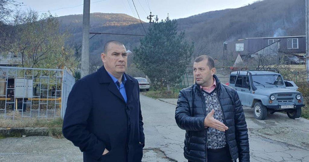 Виталий Мазнинов с рабочей поездкой побывал в Вельяминовском поселении